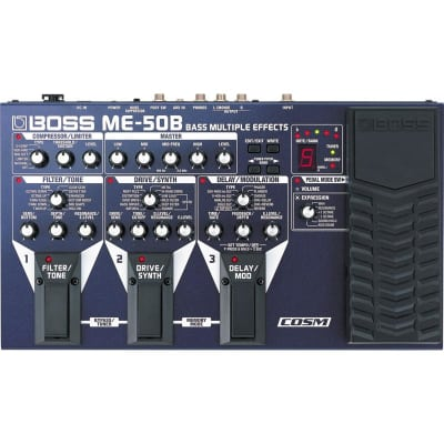 Boss ME-50B Bass Multiple Effects Processor for sale