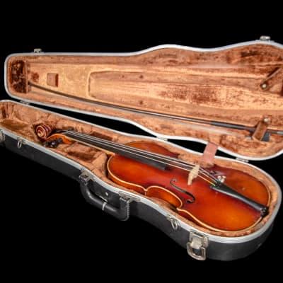 Er Pfretzschner 3/4 Violin 1984 w/ Case & Bow; Made in West Germany