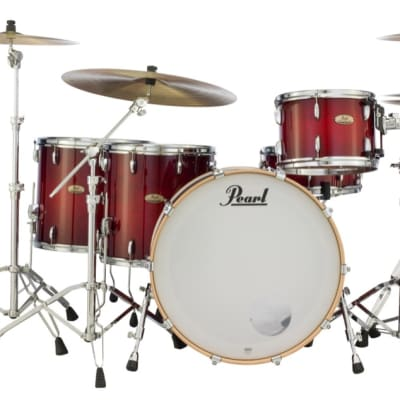 Pearl Session Studio Select Series 4pc Shell Pack w/24 Bass - Antique Crimson Burst