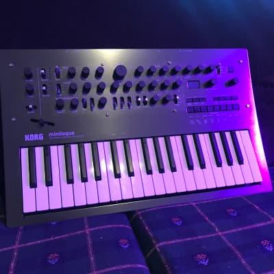 Korg Minilogue Analog Polyphonic Synthesizer- Limited Edition Polished Gray