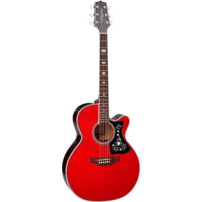 Takamine GN75CE WR NEX Cutaway Acoustic-Electric Guitar, Wine Red, GN75CEWR for sale
