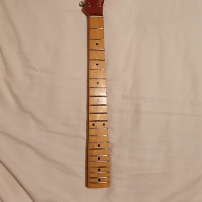 Allparts - TMO FAT Licensed Fender Telecaster Neck with Aged Gotoh Machine Heads for sale