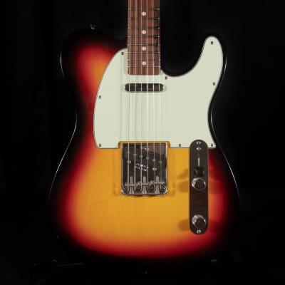 Pre Owned Fender Custom Shop '63 Telecaster NOS Sunburst Guitar W/ OHSC C of A for sale