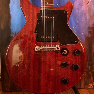 El Degas (Ibanez) DC Special (SET-NECK) Rare!!! Lawsuit Era MIJ 1970s Cherry for sale