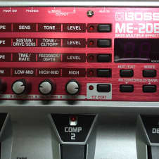 BOSS ME-20B 2000 -2016 Red/Gray/Black