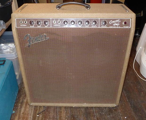 Fender Concert Amp 1960 Brown