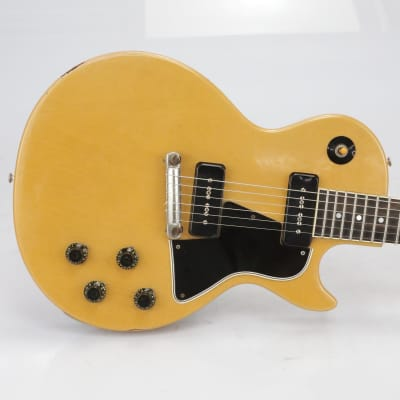 Vintage 1957 Gibson Les Paul Special P-90s TV Yellow #40542