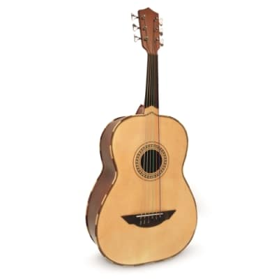 H. Jimenez LGTN2 El Tronido Premium Acoustic Guitarron with Padded Gig Bag - Natural for sale