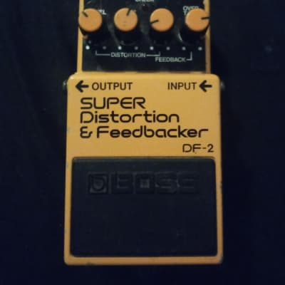 Boss DF-2 Super Feedbacker and Distortion 1985 - 1989 Made In Japan