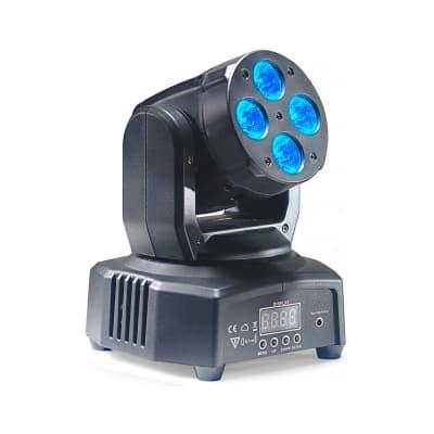 Stagg Head Banger 8 moving head w/ 4 x 10-watt RGBW LED (Headbanger Mini 8)