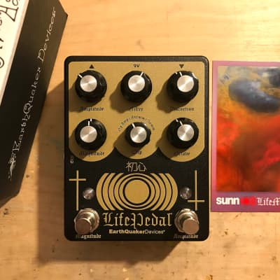 EarthQuaker Devices Sunn O))) Life Pedal Octave Distortion + Booster V2
