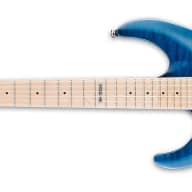 Esp/Ltd Mh 103 Qm Lh See Thru Blue   Lmh103 Qmstblh for sale