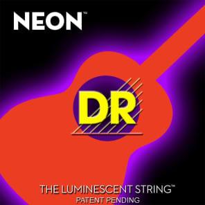 DR NOA-11 Hi-Def Neon Acoustic Guitar Strings - Medium Light (11-50)