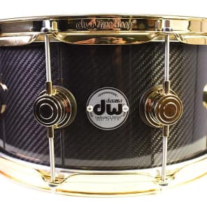 "DW DRVF6514SVG 6.5x14"" Collector's Series Carbon Fiber Snare Drum"