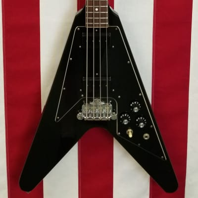 1982 Gibson Flying V Bass - 100% Original - Very Clean - Black - With Original Case for sale