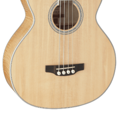 Takamine GB72CE NAT G Series Jumbo Cutaway Acoustic/Electric Bass Natural Gloss w/ Flame Maple Back and Sides
