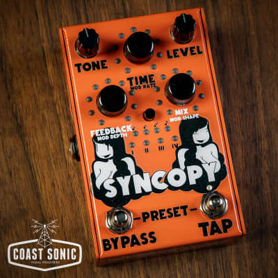 Stone Deaf FX Syncopy Digitally Controlled Analog Delay *In Stock*