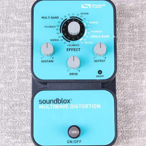 Source Audio Soundblox Multiwave Distortion Pedal