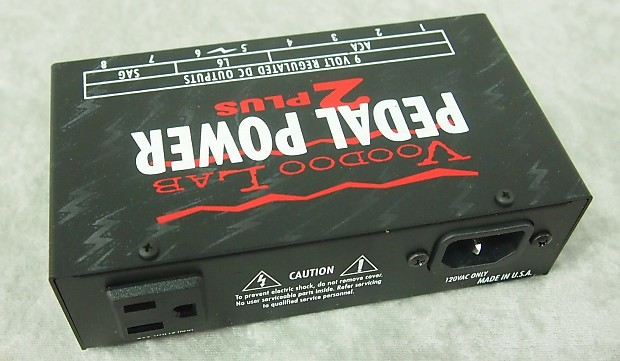 New Voodoo Lab Pedal Power 2 Plus Power Supply Reverb