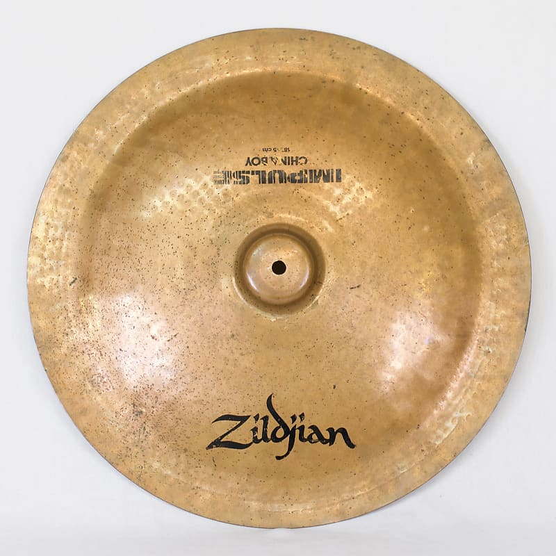zildjian impulse 18 china boy cymbal 1980s reverb. Black Bedroom Furniture Sets. Home Design Ideas