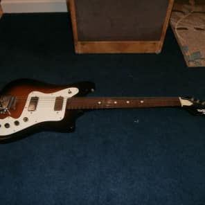 Vintage 1960's Old Kraftsman Kay K102 Vanguard Electric Guitar Project! for sale