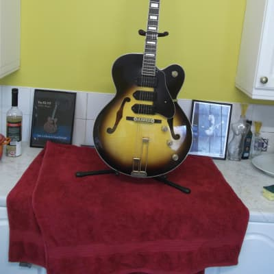 Epiphone zephyr blues deluxe 2003 sunburst for sale
