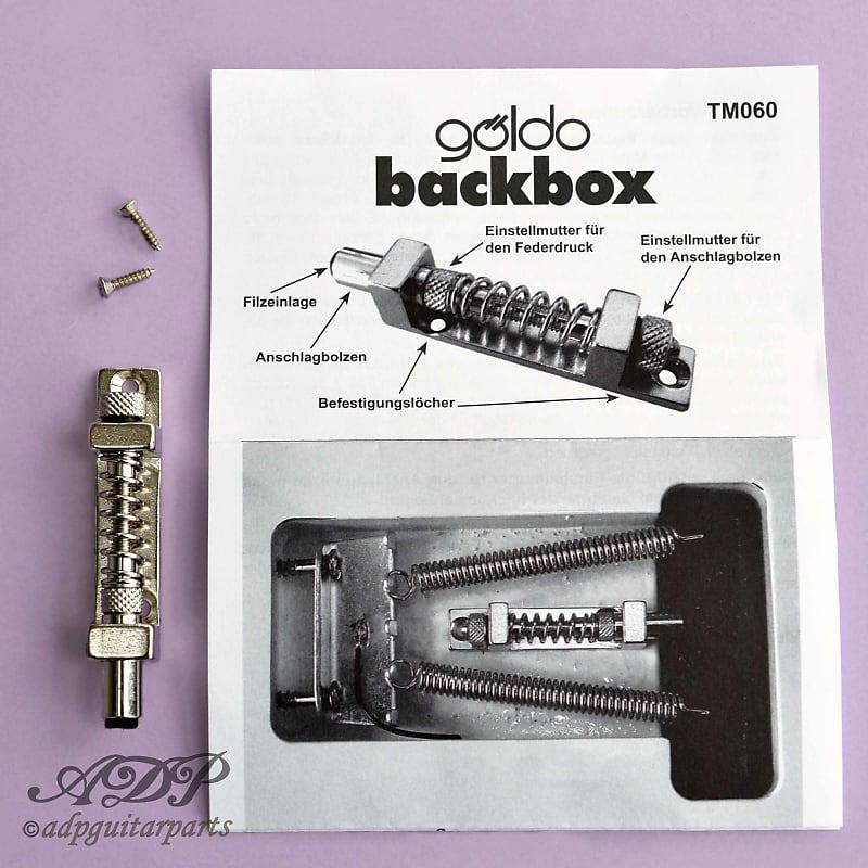 Goldo Back Box for Strat /& Similar Type Tremolos