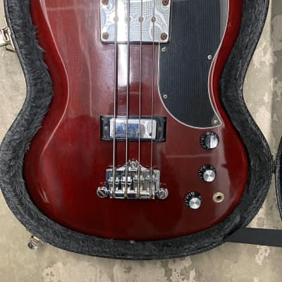 Gibson SG Standard Bass 2005 Red