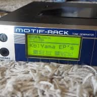 Yamaha Motif-Rack MOTIF RACK TONE GENERATOR Great High Quality Sound Module Black