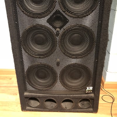 Genz-Benz XB Bass 6x10  This bass cab is in great shape and has a nice, clean, punchy tone. for sale