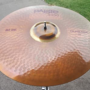 "Paiste 19"" 3000 RUDE Crash/Ride Cymbal"