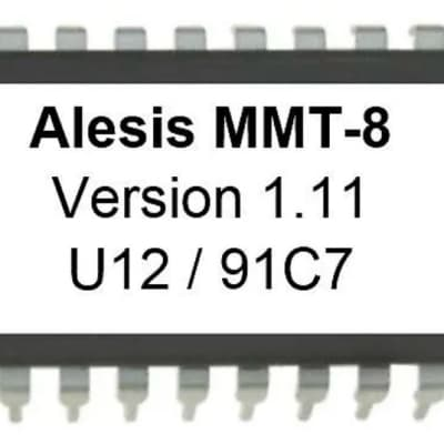 Alesis MMT-8 Version 1.11 firmware latest OS update upgrade Eprom MMT8