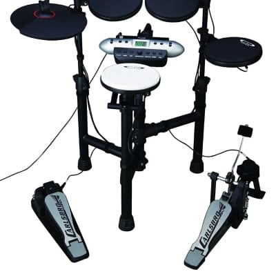 Complete Electronic Drum Pad Set Practice Compact Folding Kit