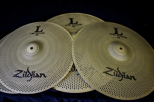 zildjian l80 low volume cymbal lv468 cymbal pack reverb. Black Bedroom Furniture Sets. Home Design Ideas