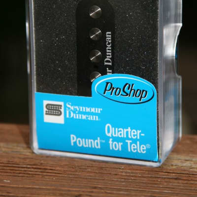 Seymour Duncan stl-3 Quarter Pound Tele Bridge Guitar Pickup Fender Telecaster image