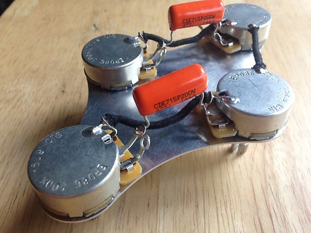 50's style gibson or epiphone les paul wiring harness | reverb on  gibson les paul wiring