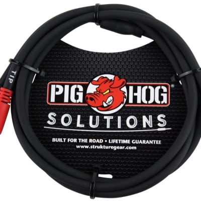 Pig Hog Solutions PB-S3R10 Stereo Breakout Cable 10 Foot