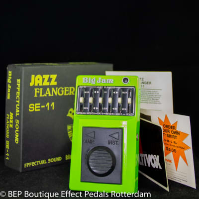 Multivox Big Jam SE-11 Jazz Flanger late 70's s/n 00696 Japan