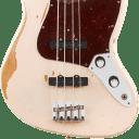 Fender Flea Jazz Electric Bass Roadworn Shell Pink With Gig Bag
