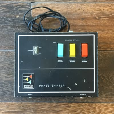 Vintage Maestro Phase Shifter With Footswitch Effect Pedal for sale