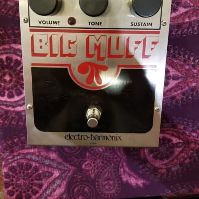 Electro-Harmonix Big Muff  Chrome/Red