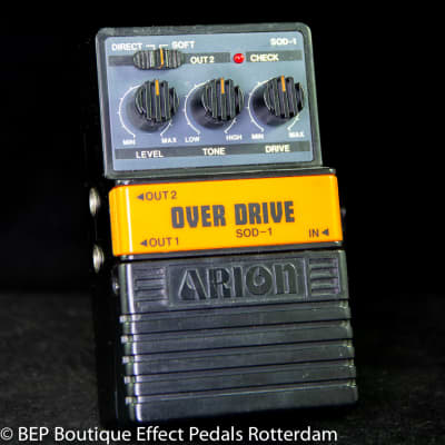 Arion SOD-1 Stereo Overdrive s/n 184327 Japan for sale