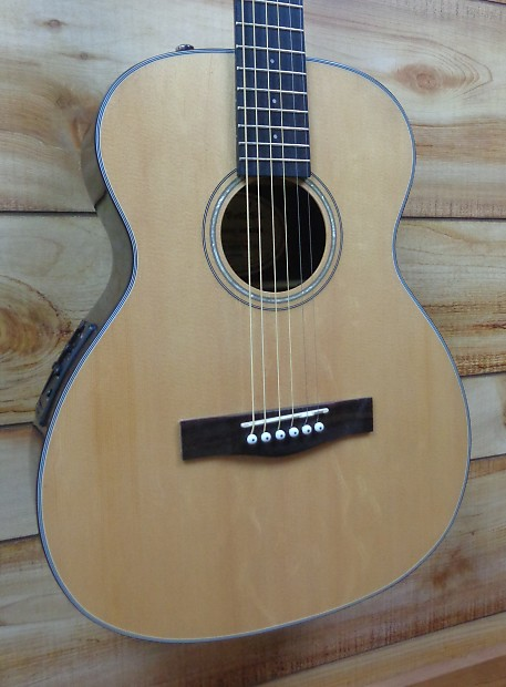 452b55f569 New Fender® CT140SE Travel Acoustic Electric Guitar Natural   Reverb