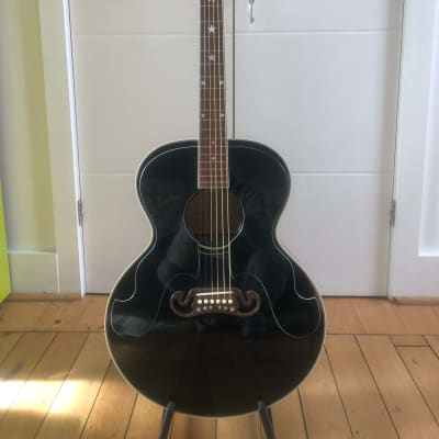 Gibson Everly Brothers J-180 1993 - 2002 Ebony for sale