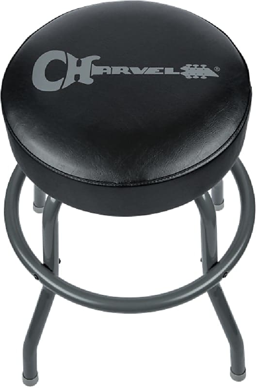 Pleasing Charvel 24 Logo Bar Stool Black The Guitar Factory Reverb Alphanode Cool Chair Designs And Ideas Alphanodeonline