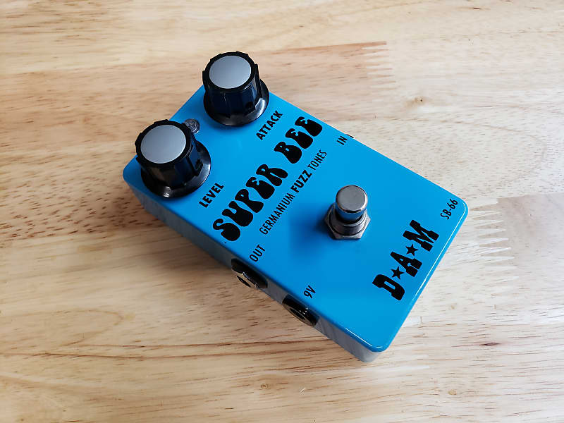 D*A*M Super Bee SB-66 Germanium Fuzz Box 2014 Blue