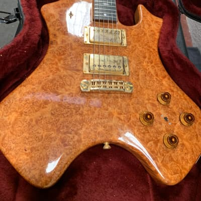 Moonstone  Earth Axe 1976 Spalt Maple for sale