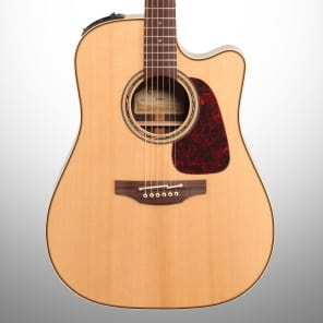 Takamine P5DC Pro Series 5 Dreadnought Cutaway Acoustic/Electric Guitar Natural Gloss