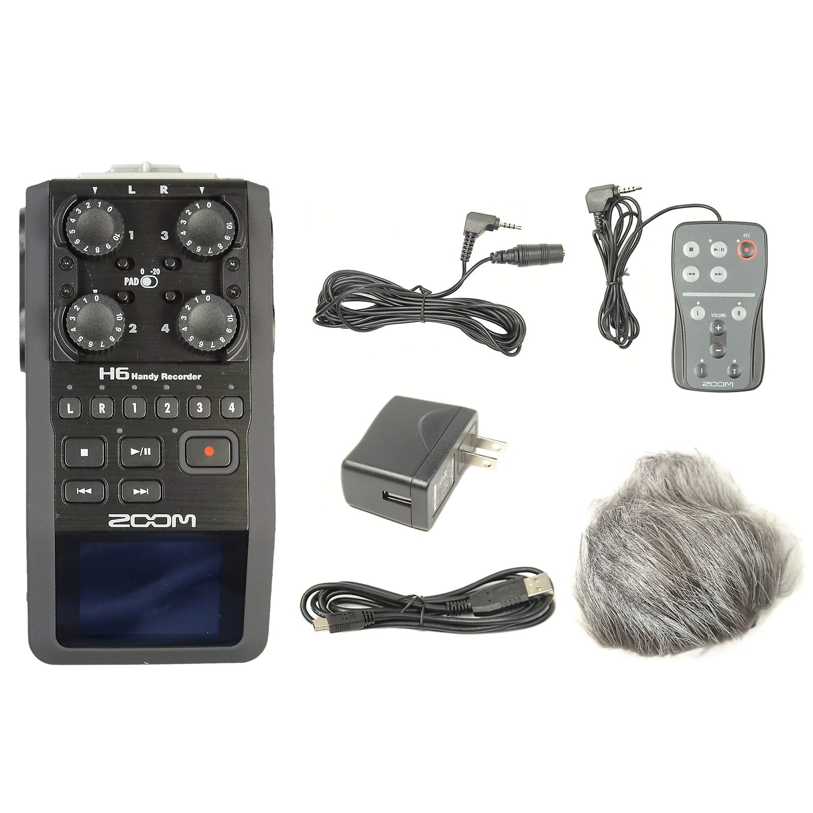 Zoom H5 Handy Recorder and Accessory Pack Bundle