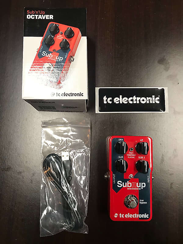 tc electronic sub n 39 up octaver pedal with toneprint mint reverb. Black Bedroom Furniture Sets. Home Design Ideas